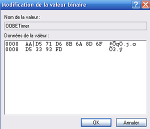 Modification de la valeur de 00BETimer
