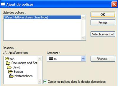 Navigation pour trouver la police