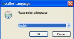 choix de la langue sopcast