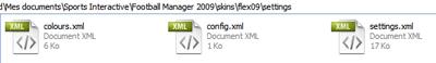 Copie du fichier setting pour un autre skin